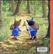 Lou p'tit loup protège sa forêt - 4ème de couverture - Format classique