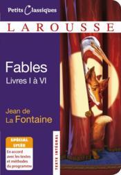 Fables t.1 à 6 - Couverture - Format classique
