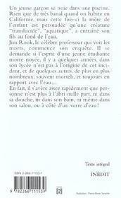 Rook T.5 ; Magie Des Eaux - 4ème de couverture - Format classique