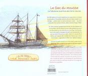 Le sac du mousse ; la fabuleuse aventure des terre-neuvas - 4ème de couverture - Format classique