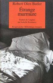 Etrange Murmure - Intérieur - Format classique