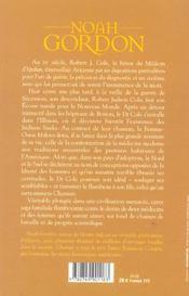 Chaman - 4ème de couverture - Format classique