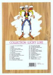Lucky Luke T.23 ; les Dalton courent toujours - 4ème de couverture - Format classique