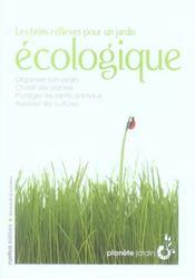 Les bons réflexes pour un jardin écologique - Intérieur - Format classique