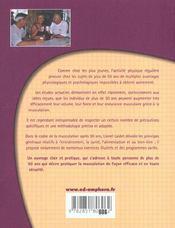 Musculation Apres 50 Ans ; Conseils Et Exercices Specifiques - 4ème de couverture - Format classique