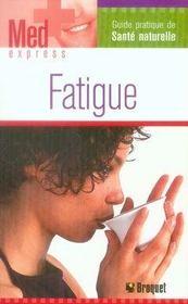 Fatigue - Intérieur - Format classique