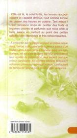 Salades d'ete - 4ème de couverture - Format classique