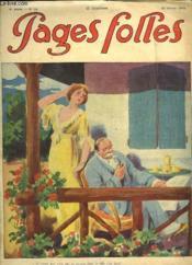 Pages Folles N° 42 Du 20 Octobre 1912. - Couverture - Format classique