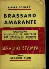 Brassard Amarante. Campagne Politique Et Militaire Des Italiens En Ethiopie. 2 Octobre-20 Novembre 1935. - Couverture - Format classique