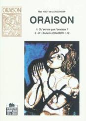 Oraison - Couverture - Format classique