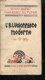 L'Illusioniste Moderne - Experiences De Prestigiditation - Couverture - Format classique
