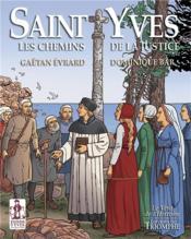 Saint Yves, les chemins de la justice - Couverture - Format classique