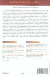 Contribution generale a l'etude de l'ethique du service public en droit anglais et francais compare (1re édition) - 4ème de couverture - Format classique
