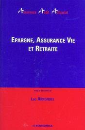Epargne, Assurance-Vie Retraite - Intérieur - Format classique