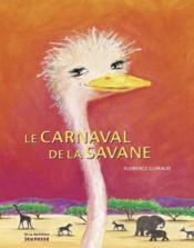 Le carnaval de la savane - Couverture - Format classique