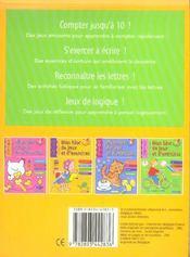 Mon Bloc De Jeux Et D'Exercices - Nombres Et Mots (5-6 A.) - 4ème de couverture - Format classique