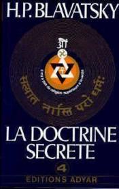 La doctrine secrète t.4 - Couverture - Format classique