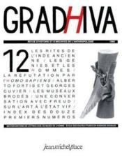 Revue Gradhiva N.12 - Couverture - Format classique