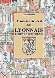 Armorial Du Lyonnais - Couverture - Format classique