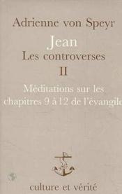 Jean Les Controverses T2 Avs8 - Couverture - Format classique