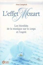 Effet mozart - Couverture - Format classique