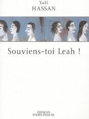 Souviens-toi, Leah ! - Couverture - Format classique