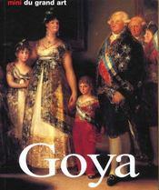 Les Minis Du Grand Art ; Goya - Intérieur - Format classique