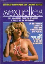 Unions Sexuelles N°12 - Un Theatre Erotique Aux Champs Elysees - Des Adresses Ou L'On S'Amuse, A Paris Et En Provence - Couverture - Format classique
