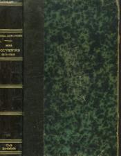 Mes Souvenirs Depuis La Guerre 1871-1901 - Couverture - Format classique