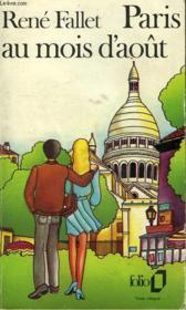 Paris Au Mois D'Aout - Couverture - Format classique