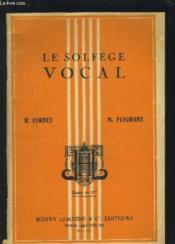 Le Solfege Vocal - Classe De 3° Des Lycees, Colleges Et Cours Complementaires. - Couverture - Format classique