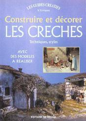 Construire Et Decorer Les Creches - Intérieur - Format classique