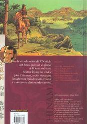 Chinaman t.7 ; affrontements à Blue Hill - 4ème de couverture - Format classique