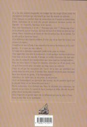 Seul sur les océans ; le tour du monde du Néo-Vent, 1964-1966 - 4ème de couverture - Format classique