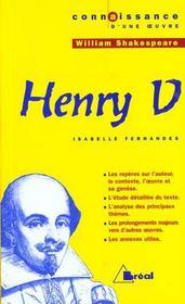 Henry V, de William Shakespeare - Intérieur - Format classique