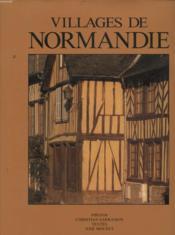 Villages de normandie - Couverture - Format classique