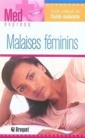 Malaises féminins - Intérieur - Format classique