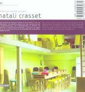 Matali Crasset V2 (édition 2004) - 4ème de couverture - Format classique
