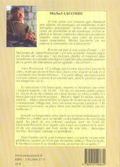 Le mécréant de saint poutouzat - 4ème de couverture - Format classique