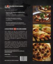 Pizzas - 4ème de couverture - Format classique