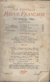 Collection La Nouvelle Revue Francaise N° 235. Les Carnets De Lidiot. - Couverture - Format classique