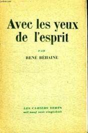 Avec Les Yeux De L Esprit. - Couverture - Format classique
