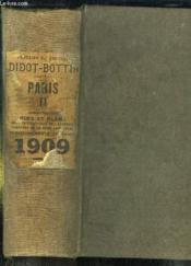 Annuaire Du Commerce Didot Bottin 1909. Tome Ii: Paris. - Couverture - Format classique