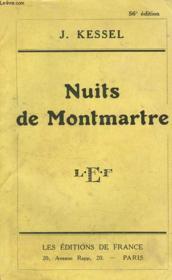 Nuits De Montmartre - Couverture - Format classique