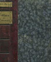Lettres De Femmes - Couverture - Format classique