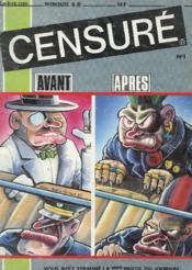 Revue - Censure - Mesuel B.C. - N°1 - Octobre 1985 - Couverture - Format classique