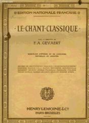 Le Chant Classique N°365 - Couverture - Format classique