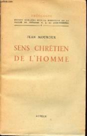 Sens Chretien De L Homme - Couverture - Format classique