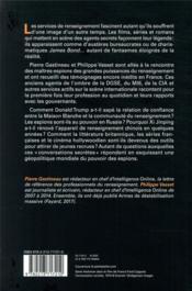 Conversations secrètes ; le monde des espions - 4ème de couverture - Format classique