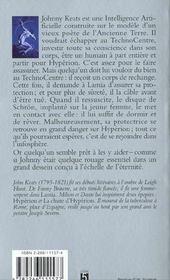 La Chute D'Hyperion T.2 ; Les Cantos D'Hyperion - 4ème de couverture - Format classique